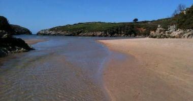 Playa de Poo, Poo de Llanes, Llanes, Hiszpania