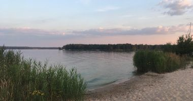 Plaża naturystów w Bronisławowie nad Zalewem Sulejowskim