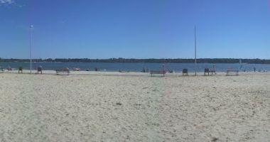 Gęsia plaża w Firleju nad Jeziorem Firlej