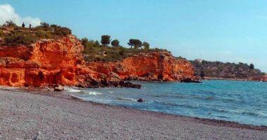 Playa Baconé, L'Ampolla, Hiszpania