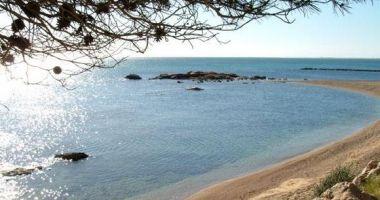 Playa de Sta. Llucia, El Perello, Hiszpania