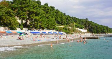 Plaże w Soczi nad Morzem Czarnym