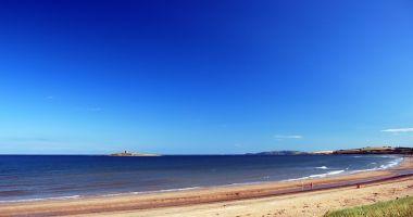 Plaża Północna i Południowa w Skerries nad Morzem Irlandzkim
