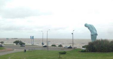 Playa del buceo, Montevideo, Urugwaj