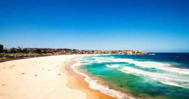 Plaża Bondi w Sydney nad Oceanem Spokojnym