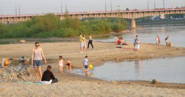 Plaża Praska w Warszawie nad Wisłą