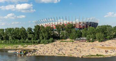 Plaża Miejska Poniatówka w Warszawie nad Wisłą