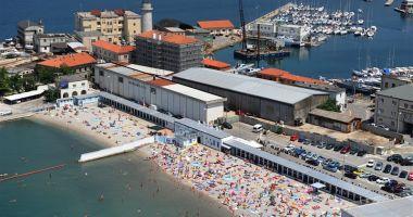 Kąpielisko Miejskie Latarnia w Trieście nad Morzem Adriatyckim