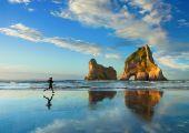 Wyspa Południowa, Przylądek Farewell, Nowa Zelandia