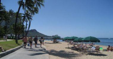 Waikiki Beach, Honolulu, Stany Zjednoczone