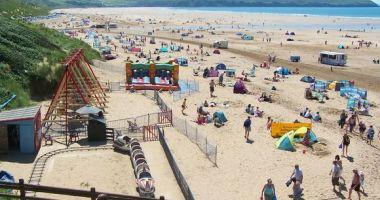Woolacombe Beach, Woolacombe, Wielka Brytania