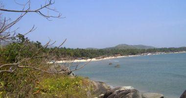 Palolem Beach, Canacona, Indie