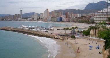 Levante Beach, Benidorm, Hiszpania