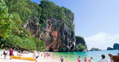 Phra Nang Beach, Ao Nang, Krabi, Tajlandia