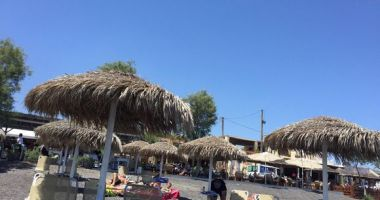 Kamari Beach, Kamari, Grecja