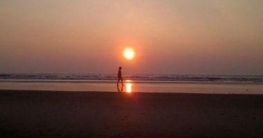 Ashwem Beach, Panjim, Indie