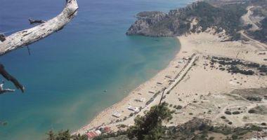 Tsambika Beach, Grecja