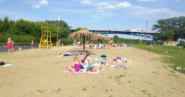 Plaża Miejska w Łomży nad Narwią