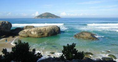 Grumari Beach, Rio de Janeiro, Brazylia