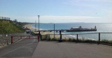 Bournemouth Beach, Bournemouth, Wielka Brytania