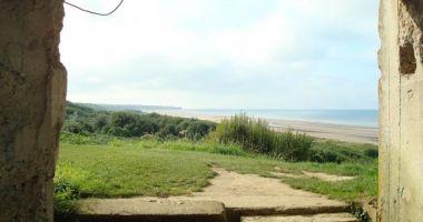 Omaha Beach, Saint-Laurent-sur-Mer, Francja