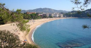 Fenals Beach, Lloret de Mar, Hiszpania