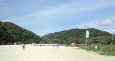 Itamambuca Beach, Ubatuba, Brazylia