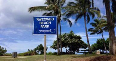 Aweoweo Beach Park, Waialua, Stany Zjednoczone