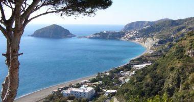 Maronti Beach, Ischia, Włochy