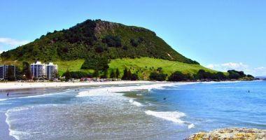 Maunganui Beach, Mount Maunganui, Tauranga, Nowa Zelandia
