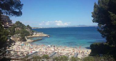 Illetas Beach, Illetes, Calvia, Hiszpania