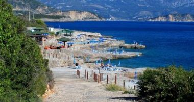 Ploce Beach, Budva, Czarnogóra