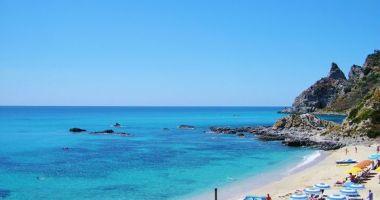 Grotticelle beach, Capo Vaticano, Ricadi, Włochy