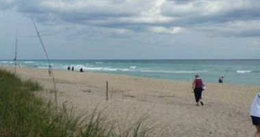 Santa Lucea Beach, Stuart, Stany Zjednoczone
