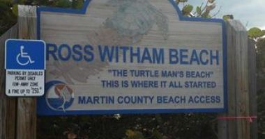 Ross Witham Beach, Stuart, Stany Zjednoczone