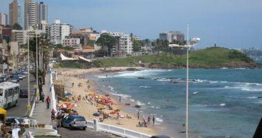 Farol da Barra Beach, Salvador, Brazylia
