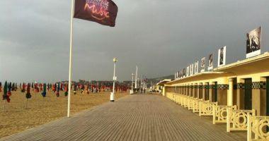 Deauville Beach, Deauville, Francja
