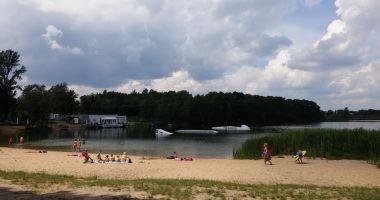 Plaża przy OW Nad Lipnem w Stęszewie nad Jeziorem Lipno
