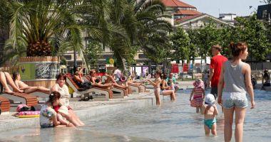 Plaża Sztuczna Rawa na Katowickim Rynku