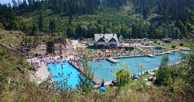 Kąpielisko w Geo-Park Glinka w Ujsołach