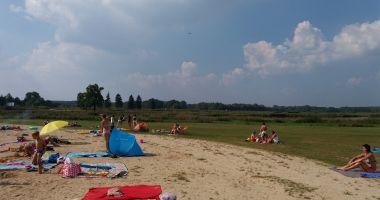 Plaża w Wodnej Osadzie Grzegorzewice