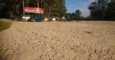 Plaża Wiosełko w Cieksynie nad Wkrą