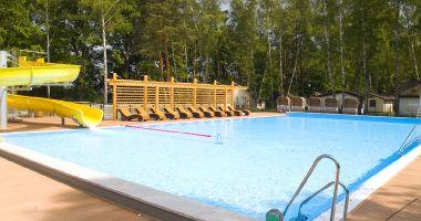 Basen kąpielowy w Parku Kultury w Powsinie