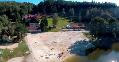 Plaża Złoty Potok Resort nad Jeziorem Złotnickim