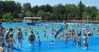 Basen kąpielowy w Ośrodku Rekreacyjnym MOSIR w Żorach-Roju