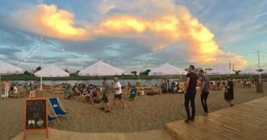 Plaża Stara Odra Beach Bar we Wrocławiu nad Odrą
