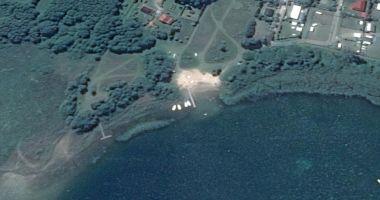 Plaża w Wiekowie nad Jeziorem Niedzięgiel