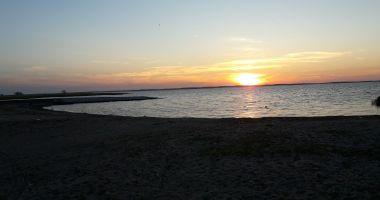 Plaża w Starej Pasłęce nad Zalewem Wiślanym