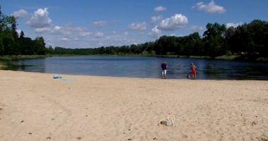 Plaża w Strzelcach Krajeńskich nad Jeziorem Górnym