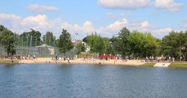 Plaża w Grodzisku Mazowieckim nad Stawami Walczewskiego